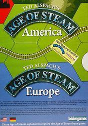Age of Steam America / Europen kansi