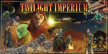 Twilight Imperiumin kolmoslaitoksen kansi