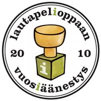 Vuosiäänestys 2010 -logo
