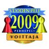 Vuoden perhepeli 2009 -voittaja