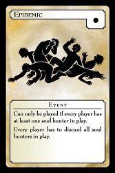 Epidemic-tapahtumakortti