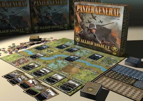 Valmistajan mallikuva Panzer General -pelistä