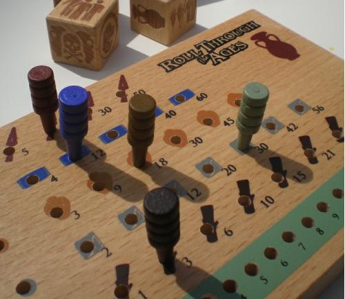 Roll Through the Ages -sivilisaatio rakenteilla