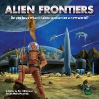 Alien Frontiersin kansi