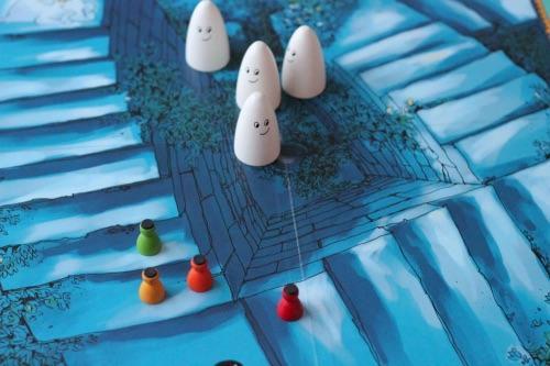Kummitusportaat. Kuva: Mikko Saari