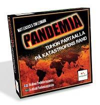 Pandemia - Tuhon partaalla -kansikuva