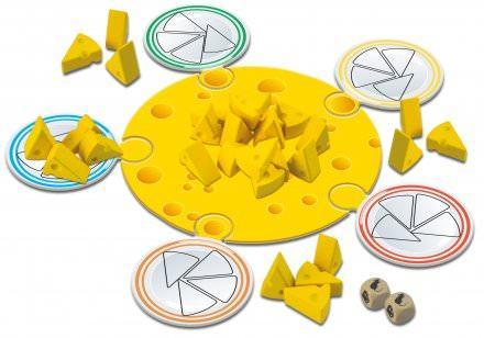Rrrotta-pelin osat. Kuva: Tactic