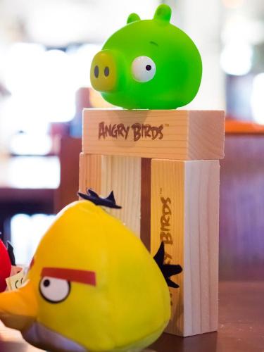 Angry Birds Action Gamen osat. Kuva: Mikko Saari