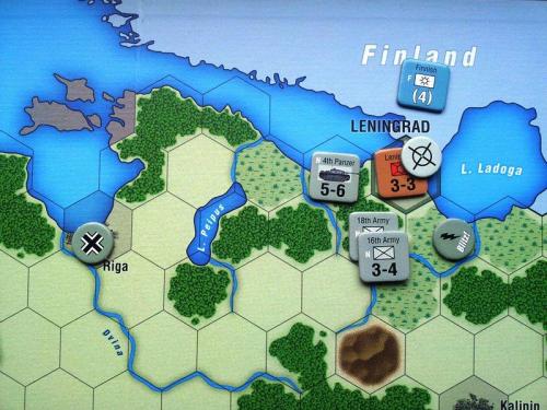 Taisteluja Leningradista. Kuva: Tommi Vainio