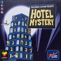 Hotel Mysteryn kansi