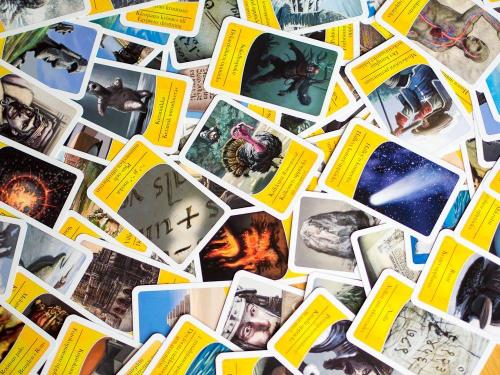 Pelin kortteja. Kuva: Mikko Saari