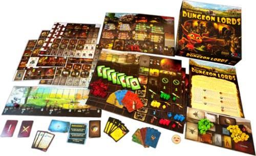 Dungeon Lordsin osat. Kuva: Czech Games Edition