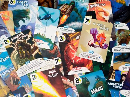 King of Tokyon kortteja. Kuva: Mikko Saari