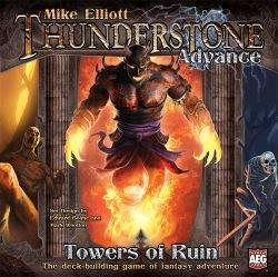 Thunderstone Advance: Towers of Ruinin kansi