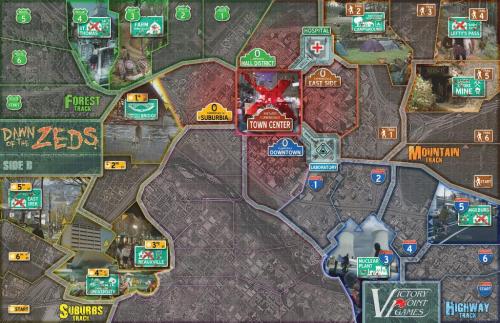 Pelilauta. Kuva: Victory Point Games