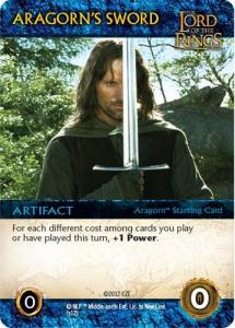 Aragornin miekka. Kuva: Cryptozoic