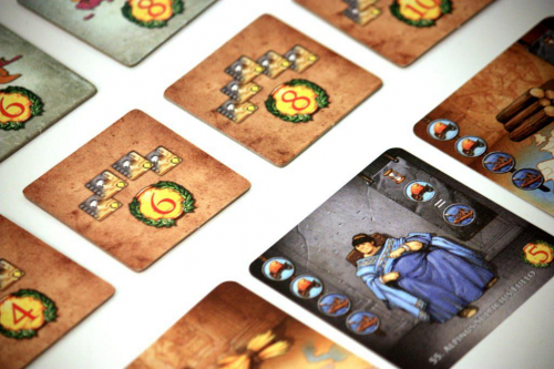 Augustuksen kortteja. Kuva: Henk Rolleman / BGG