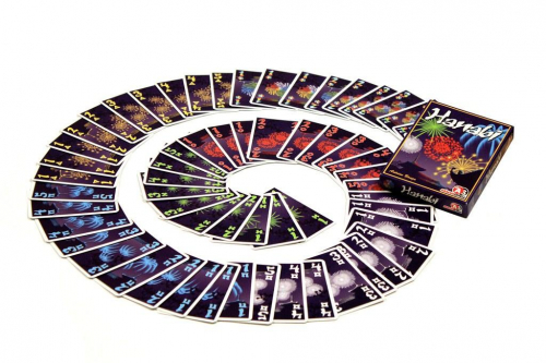 Hanabin kortit. Kuva: Henk Rolleman / BGG