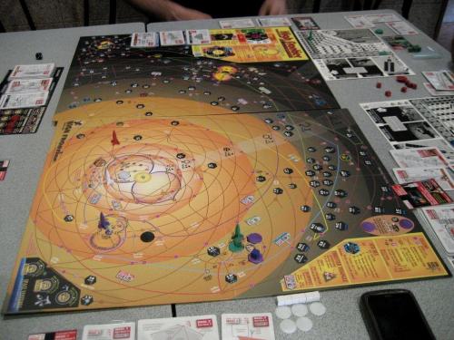 Mars on valloitettu. Kuva: Fran F G / BGG