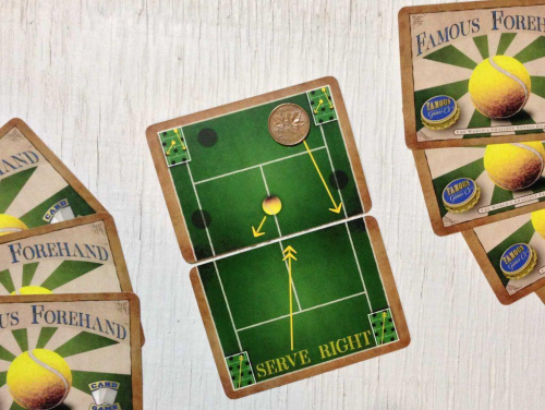 Famous Forehand. Kuva: Famous Games Company