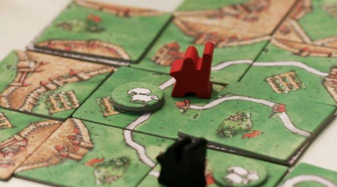 Carcassonne: Pedot ja paimenet (kuva Daniel Danzer)