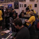 Heidelbärgerin demoalue toimi yhteistyössä Fantasy Flight Gamesin kanssa. FFG:llä ei kuitenkaan ollut omaa virallista osastoa.