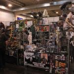 Poromagian yhteistyökumppani HeadHunter Store oli myös mukana messuilla sarjakuva- ja elokuva-aiheisine tuotteineen.