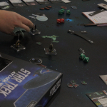 Myös Star Trekistä on oma figuurein pelattava avaruustaistelupelinsä.