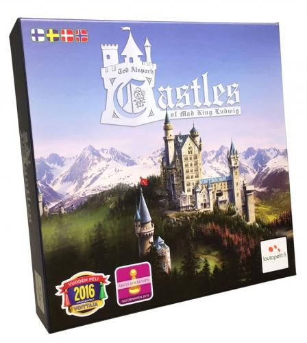 Castles of Mad King Ludwigin kansi