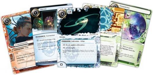 Android: Netrunnerin kortteja