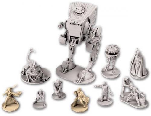 Imperial Assaultin miniatyyrejä. Kuva: Fantasy Flight