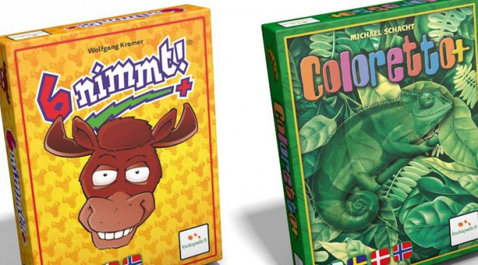 Coloretto ja 6 Nimmt!