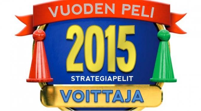 Vuoden peli -voittajat 2015