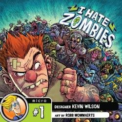 I Hate Zombiesin kansi