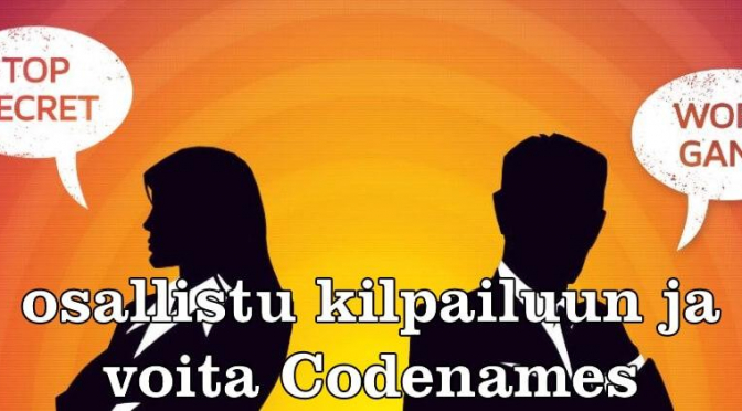 Osallistu Codenames-kilpailuun