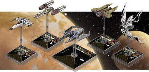 X-Wing Miniatures -lisäalukset