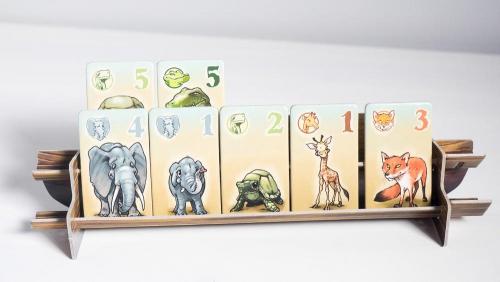 Eläimiä arkissa. Kuva: Mikko Saari