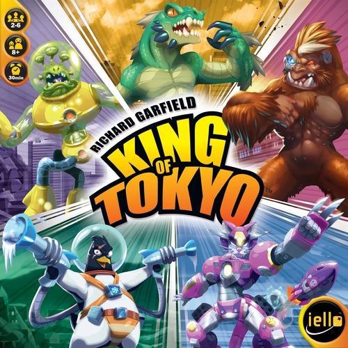 King of Tokyon uusi kansi