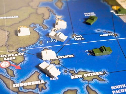 Tyynenmeren rintama. Kuva: Mikko Saari