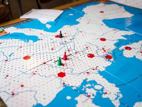 Kolminpeli Eurorailsia. Kuva: Mikko Saari