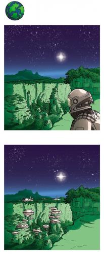 Sinivihreä planeetta
