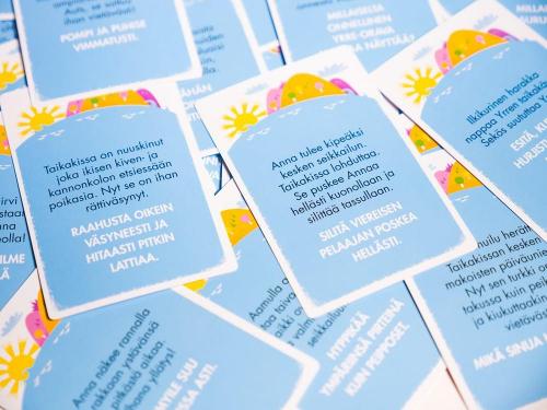 Seikkailujen saaren kortteja