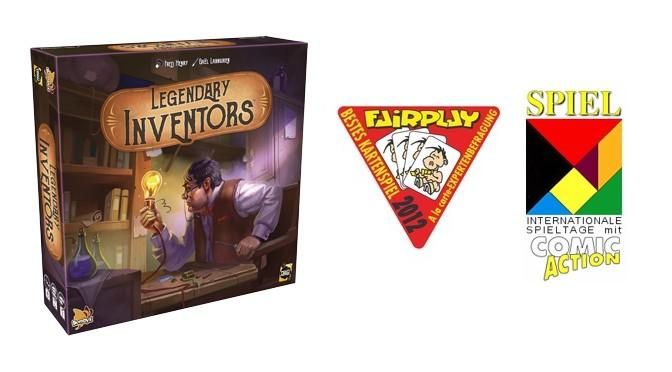 Legendary Inventors of Fairplay Spiel