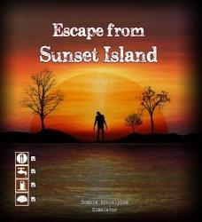 Escape from Sunset Islandin kansi