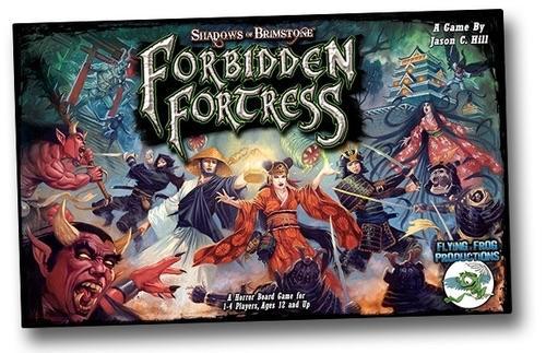 Shadows of Brimstone: Forbidden Fortressin kansi