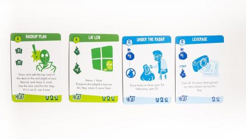 Vihreät ja siniset kortit
