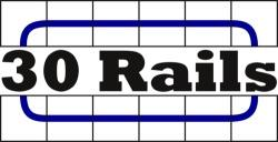 30 Railsin logo