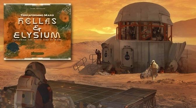 First Martians on Hellas & Elysium