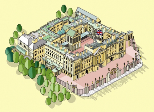 Buckinghamin palatsi