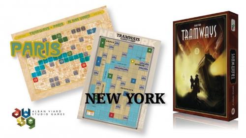 Tramways Paris / New York